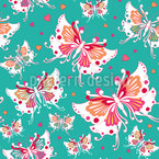 Butterflies Wedding Vector Ornament