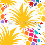 Happy Fruit Day Seamless Pattern