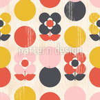 Florella Seamless Vector Pattern Design