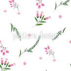 Blumen und Pflanzen Vektor Ornament