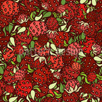 Strawberry Harvest Repeat Pattern