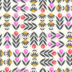 Floral Fantasy  Seamless Vector Pattern Design
