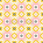 Cute Retro Seamless Vector Pattern Design