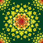 A Floral Explosion Pattern Design