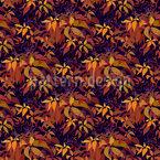 Herbst Reben Nahtloses Vektormuster