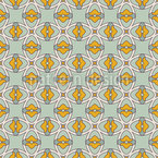 Elegant ornamental grid  Repeating Pattern