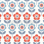 Return Of Flowers Seamless Vector Pattern Design
