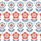 Rückkehr Der Blumen Vektor Muster