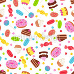 Desserts Seamless Vector Pattern Design