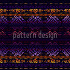 Mystic Ethno Stripes Repeat Pattern