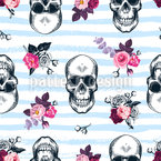 Dead Sailors Seamless Vector Pattern Design