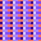 Asymmetrisches Karomuster Vektor Muster