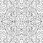 Filigree Arrangement Seamless Vector Pattern Design