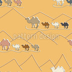 Caravan Seamless Vector Pattern