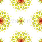 Fancy Blossoms Pattern Design