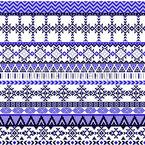 Zicke Zacke Muster Design