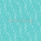 Wasserblasen Nahtloses Vektor Muster
