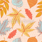 Flying Leaves Pattern Design
