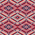 All Sizes of Rhombuses Seamless Pattern