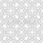 Outlined  Seamless Vector Pattern Design
