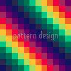 Regenbogen-Schach Designmuster