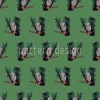 Schlummer-Koala Nahtloses Vektormuster