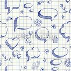 Sprechblasen Doodles Rapport