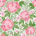 Flowering Garden Repeat Pattern