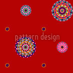 Maharajahs Rot Seamless Vector Pattern Design