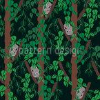 Koalababies Bei Nacht Vektor Muster
