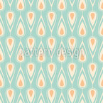 Vintage Rain Repeat Pattern