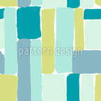 Fresh Brushstrokes Seamless Vector Pattern Design