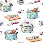 Küchenutensilien Designmuster