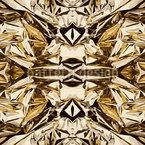 Goldrausch Nahtloses Vektormuster