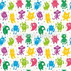 Doodle Monster Vektor Design