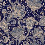 Paisley Florescence Repeat
