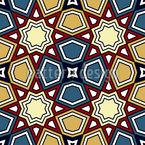 Geometrische Markierungen Nahtloses Muster