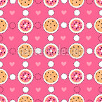Sweet And Tasty Seamless Pattern