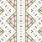 Embellished Bordura Seamless Vector Pattern Design
