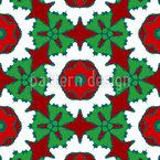 Versteckte Weihnacht Rapportiertes Design