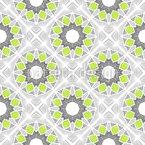 Blumen Und Nervenbahnen Muster Design