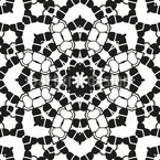 Doily Seamless Vector Pattern Design