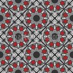 暗線 シームレスなベクトルパターン設計