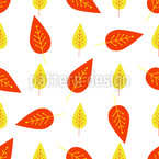 Leaf Confetti Design Pattern