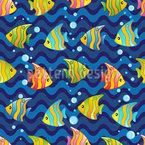 Fisch Knotenpunkt Musterdesign