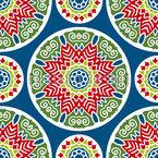 サークルの数より シームレスなベクトルパターン設計