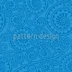 Jodhpur Blau Nahtloses Vektormuster