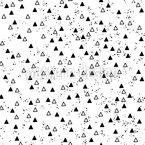 Dreiecke und Punkte Rapportiertes Design