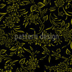 Breakfast In Gent Gold Pattern Design
