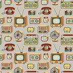 Retro Elektronik Muster Design